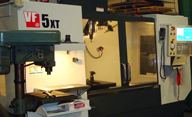 CNC Metal Machining - Haas VF5
