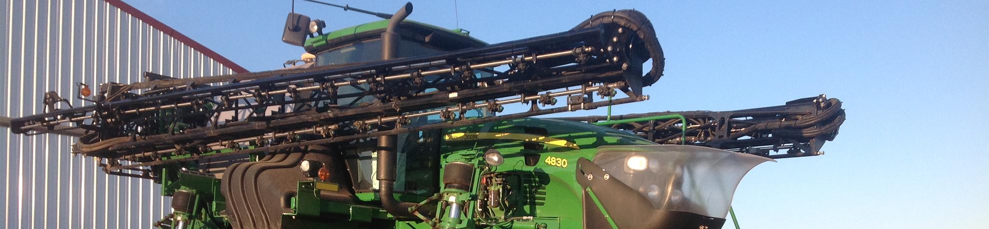 John Deere Sprayer Boom Extensions